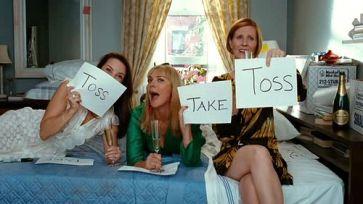 toss take